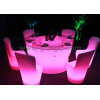 Wholesale Red Green Blue Plastic Lighted LED Portable Chairs for Events and Banquet from china suppliers