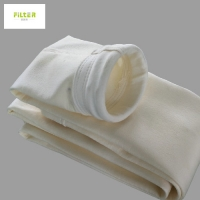 Wholesale 475G/M2 Homopolymer Acrylic Felt Filter Bags Anti Alkali from china suppliers