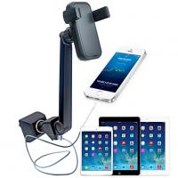 Wholesale Mobile Phone / Tablet Car Charger Holder Double USB Sockets for iPad 2 3 4 5 from china suppliers