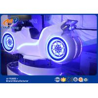 Wholesale White Color Racing Car Virtual Reality Games With HTC Helmet 1 Player from china suppliers