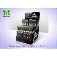 Wholesale Glossy Black 350 Gsm Counter Top Display Stands For E - Cigarette , Easy Folding from china suppliers