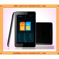 Wholesale MTK8377 Dual sim card and dual core and GPS 7inch smart tablet phone tablet calling from china suppliers