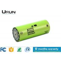 Wholesale Panasonic Lithium Ion Battery , Lithium Ion Battery Safety 3.3V 2500mAh from china suppliers