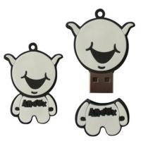 Wholesale customized 128MB, 256MB, 512MB cartoon pvc USB flash storage drives from china suppliers