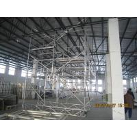 Wholesale Light Weight Steel pipe Scaffolding For Boiler , aluminum folding scaffold from china suppliers
