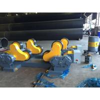 Wholesale 60 Ton Loading Capacity Tank Turning Rolls Drive By 4KW Motor Power For Automatic Welding from china suppliers