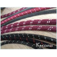 Wholesale Cotton Outer Textile Braided Flexible Fuel Oil Resistant Rubber Hose from china suppliers