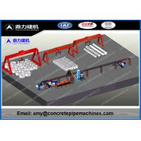 Wholesale 10 - 15Min / Pc Concrete Casting Machine , Concrete Pipe Equipment 12 Months Warranty from china suppliers