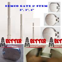 """Quality DEMCO DM MUD GATE VALVE GATE 2"""" 3"""" 4"""" Steel, Nickel Plated P/N 1876 1878 2207 F/Cameron DEMCO MUD GATE VALVE for sale"""