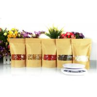 Wholesale Food Grade Kraft Paper Dried Fruit Doy Pouches For Candy Biscuit from china suppliers