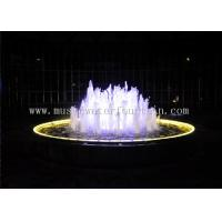 Wholesale 220V / 380V Dia 5 Meter Indoor Water Fountain With Various Color Led Lighting from china suppliers