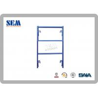 Wholesale Shoring Frames Japanese Scaffolding With Powder Coated , Easy To Assembly from china suppliers