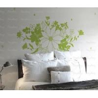 Wholesale Designer Personalised PVC Nontoxic Wall Decoration Flower Stickers G230 from china suppliers