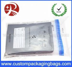 Wholesale PE Gravure Printing Custom Handling Security Deposit Packaging Bags from china suppliers