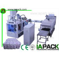 Wholesale 1KG-2KG Flour Paper Bag Packing Machine 6-22bags/min 7kw Power With Heat Shrinking from china suppliers