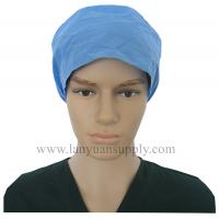 Wholesale Single ply Doctor Cap with Elastic Band/Bouffant Cap/Surgical Cap/Doctor Cap/Nursing Cap from china suppliers