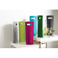 Buy cheap Tote Felt Wine Bottle Bag from wholesalers