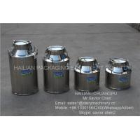 Wholesale Safety Double Layers 40L Stainless Steel Milk Bucket For Dairy Farm from china suppliers