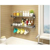 Kitchen Ware Kitchen Wall Storage Racks , Stocked Wall Mounted Pan Rack