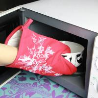 Wholesale Kitchen Useful Insulate Cotton Microwave Oven Gloves / Heat Resistant Oven Mitts from china suppliers
