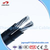 Wholesale 1kv / 11kv Abc Cable Service Drop Duplex Conductor , B 399 Aluminum Underground Wire from china suppliers