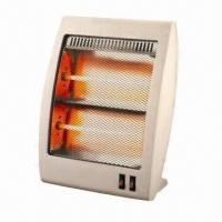 Wholesale 220 to 240V/50 to 60Hz Halogen Heaters with 400W/800W/1200W Power, Stream Lined Design, Refinement  from china suppliers