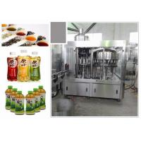 Wholesale 6.68kw Standard 3-In-1 Monoblock Tea Filling Machine With Perfect CIP System from china suppliers