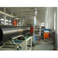 Wholesale Drain Water PVC Pipe Extrusion Machine / Equipment With Siemens Inverter from china suppliers