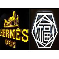 Wholesale Full Acrylic Illuminated LED Letters Sign For Lighting Up Shop Front LOGO from china suppliers