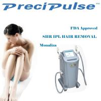 Wholesale Permanent SHR IPL Hair Removal Machine 1064nm / 532nm Wavelength FDA Approved from china suppliers