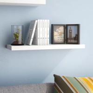 China MDF Paint Rustic Floating Wall Shelf / Floating Display Shelves Fashion Design on sale