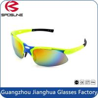 Wholesale Different Colored Prescription Sports Sunglasses UV400 Camo With Custom Logo from china suppliers