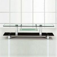 Wholesale TV Stand with 12mm Top Glass and Aluminum Leg from china suppliers