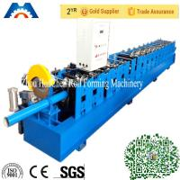 """Wholesale 3"""" * 4"""" Rectangular Rainspout Roll Forming Machine for Rainwater Downpipe / Water Pipe from china suppliers"""