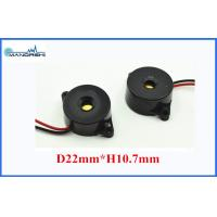 Wholesale 22MM 10mA Max Sound Effects Buzzer 90dB ABS Housing With Wire from china suppliers