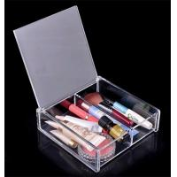 Wholesale clear acrylic cosmetic box for storage makeup,jewelry box,cosmetic box from china suppliers