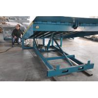 Wholesale 6000Kg Stationary Container Loading Dock Ramp , adjustable hydraulic dock levelers from china suppliers