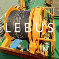 Buy cheap Hydraulic marine offshore platform or drilling rig boat towing winch from wholesalers