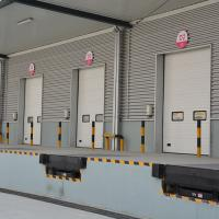 Wholesale Safety And Automatic High Speed Overhead Doors Insulated PU Panel from china suppliers