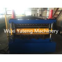 Wholesale Double Layer Roll Forming Machine With Hydraulic Cutting system, mirror polished rollers and spcers from china suppliers