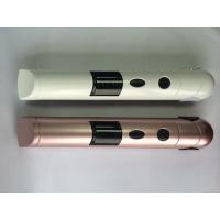 Wholesale White / Rose  Travel Hair Straighteners , Curling Flat Iron Styling Tools from china suppliers