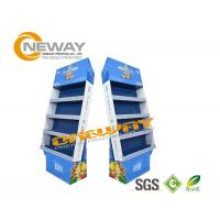 Wholesale OEM Custom Corrugated Paper Cardboard Pop Up Display Stands Multilayer from china suppliers