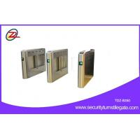 Bi directional Swing Barrier Gate RFID Retractable Half Height Turnstile entry systems