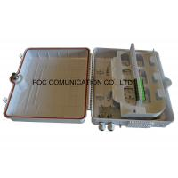 Wholesale 48 Core IP65 UV Resistant Fiber Optic Patch Panel To Install PLC Splitter from china suppliers