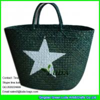 Wholesale LUDA 2015 fashion shoulder strap style of seagrass beach straw bag from china suppliers