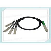 Wholesale 40Gbps SPF Fiber Optic QSFP-4SFP10G-CU3M Transceiver Passive 3 Meters Cable from china suppliers