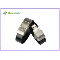 Wholesale Leather wristband personalized 32gb usb 2.0 flash drive 10-22mb / s Speed from china suppliers