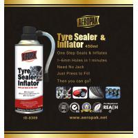 Wholesale White Aeropak Emergency Tyre Repair Sealant Inflator 450ml 650ml from china suppliers