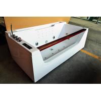 Wholesale One Person Hydrotherapy Mini Indoor Hot Tub Square With Bluetooth Upgrade from china suppliers
