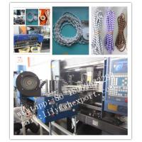 Quality plastic beads ball chain making machine for sale